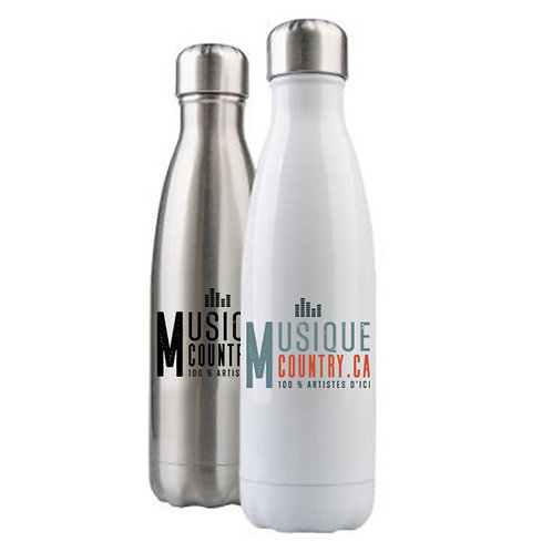 MCCA22 - Bouteille d'eau en acier inoxydable