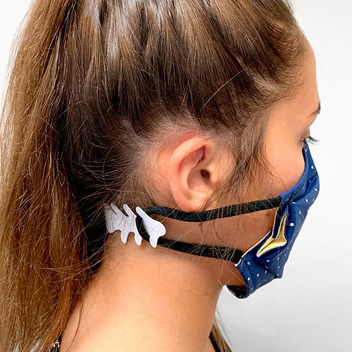 Crochet protège-oreilles pour masque facial (unitaire)