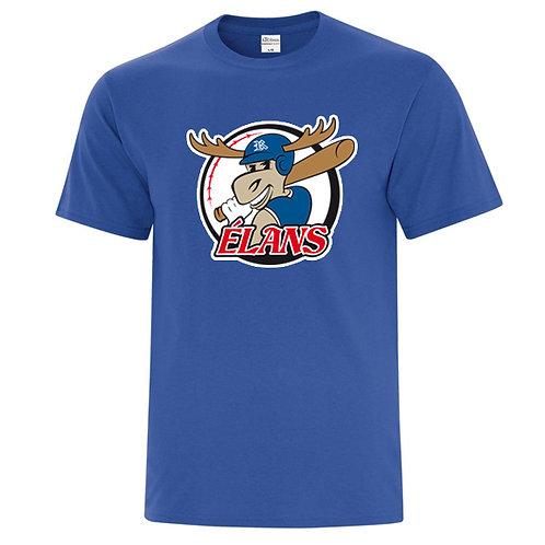 B04- T-shirt régulier junior et adulte 100% cotton