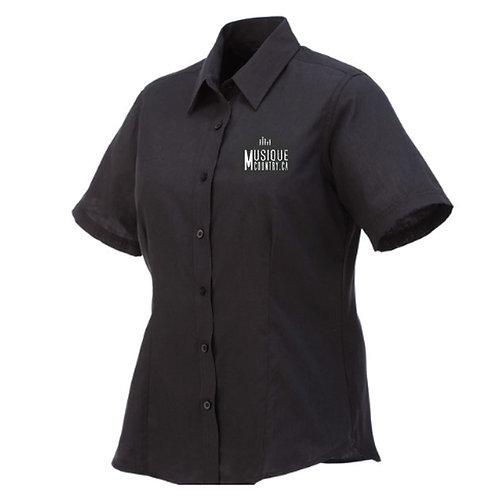 MCCA09 - Chemise régulière femme - manches courtes