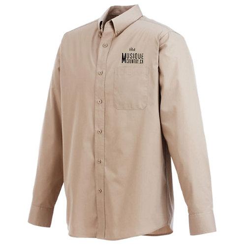 MCCA13 - Chemise régulière homme manches longues