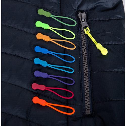 Zippies : pour ajout de couleur à votre vêtement !