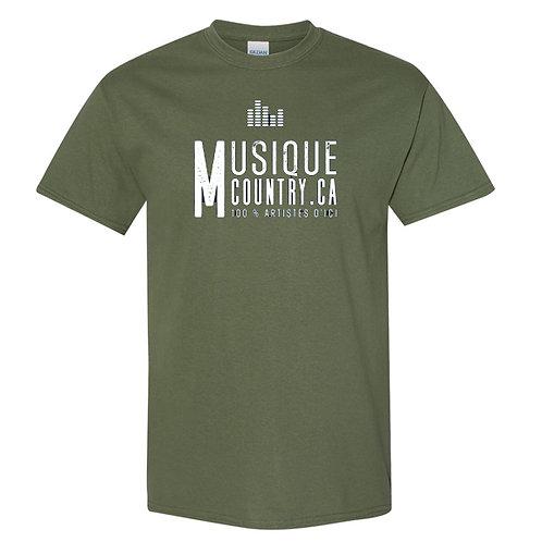 MCCA01 - T-Shirt unisexe Logo