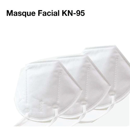 Masque KN-95 (Lot de 50 unités)