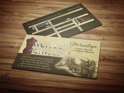 Création de cartes d'affaires