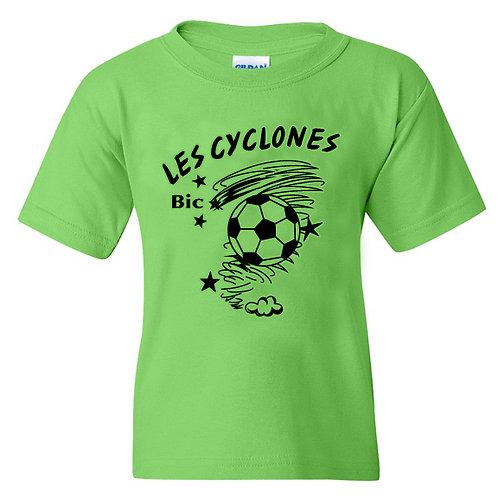 CY57- T-shirt régulier junior et adulte 100% cotton