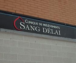 Clinique Sang Délai
