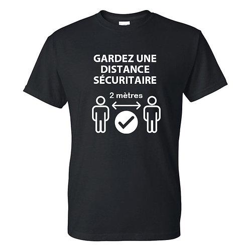 J21-T-shirts - Gardez distance sécuritaire