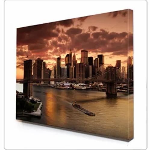 Impression canvas montée sur cadre