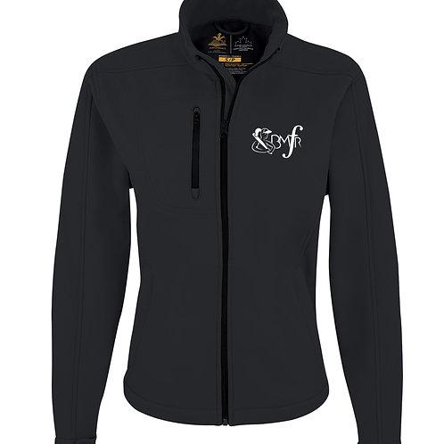 Manteau léger softshell - logo de la ligue brodé au coeur - Femme JF2200