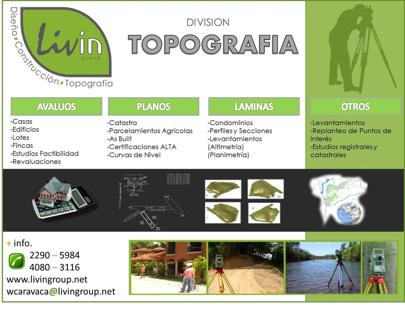 TOPOGRAPHY & ENVIRONMENTAL