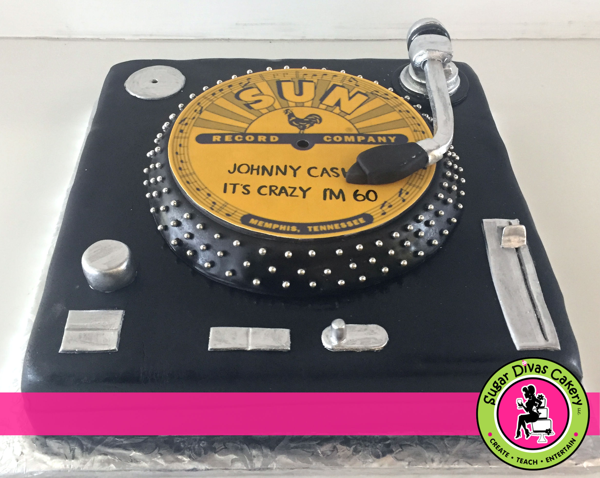 johnny cash record player