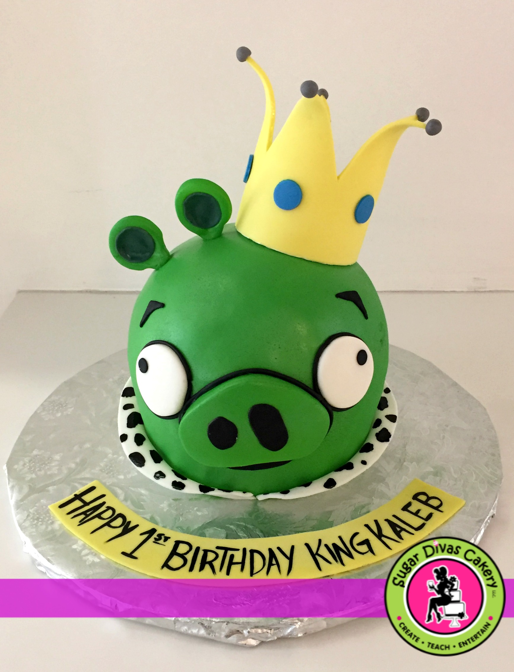 angry birds pig king