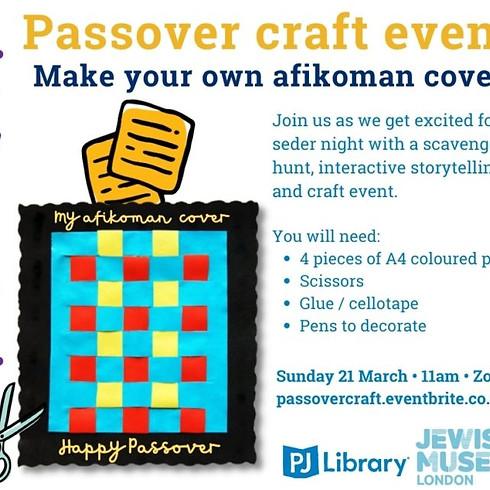 Passover craft event
