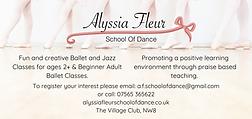 Alyssia Fleur School of Dance