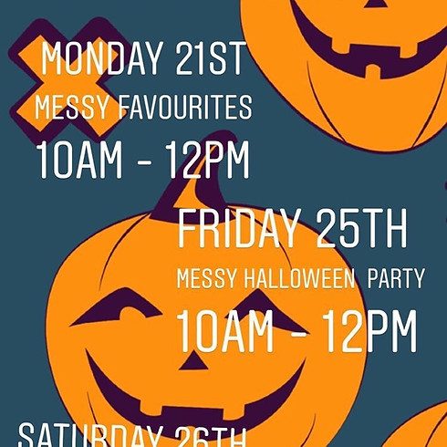 October Messy Play