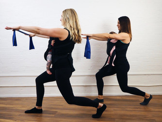 Mamma Method - the 'baby-wearing' postnatal workout developed by two local mums