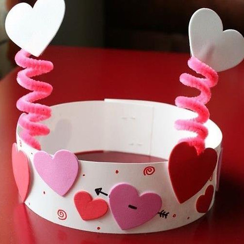 'Handy Hearts' Valentines Arts&Crafts