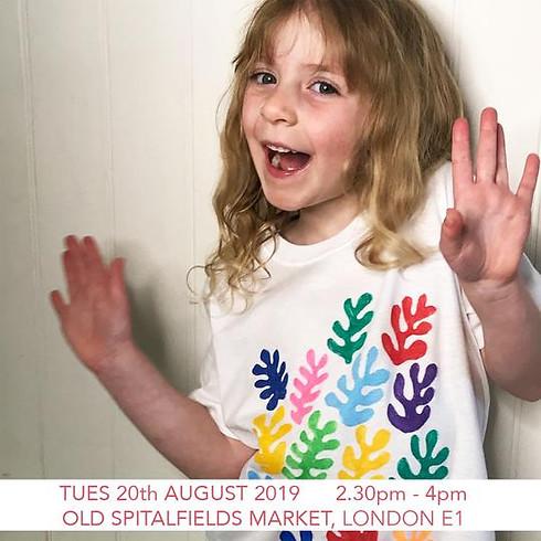 Design a Matisse Inspired T-shirt - Children's Workshop