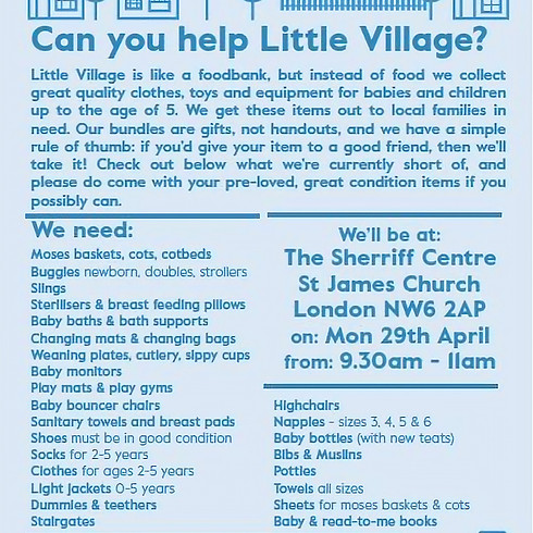 Little Village Donation Day