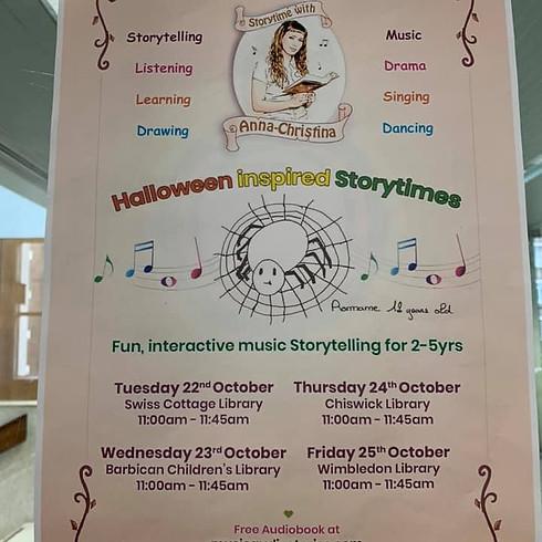 Halloween Inspired Storytime