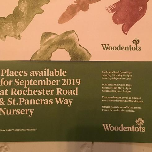 OPEN DAY Woodentots Montessori Nursery