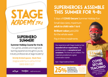 Superhero Summer! - Ages 4 to 8 - Stage Academy