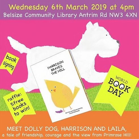 Meet the Author - BOOK READING & SIGNING for children