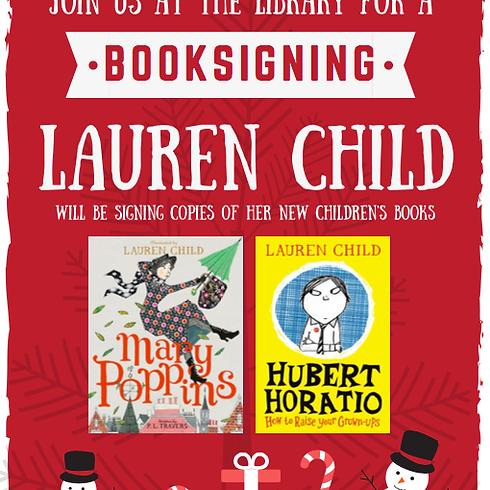 Lauren Child BOOK SIGNING