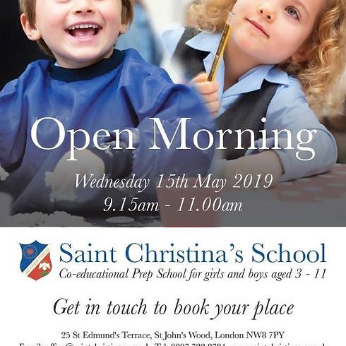 OPEN MORNING at Saint Christina's School