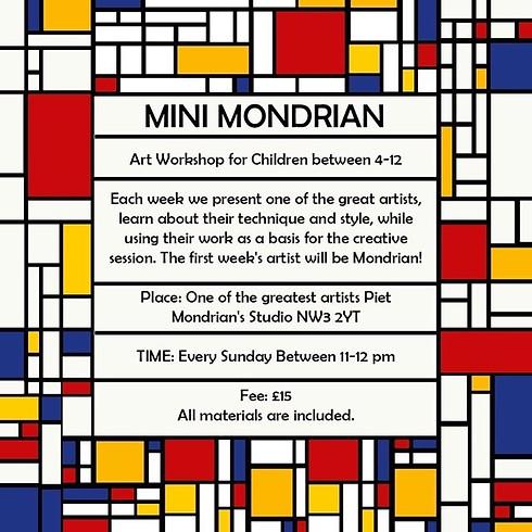 Mini Mondrian
