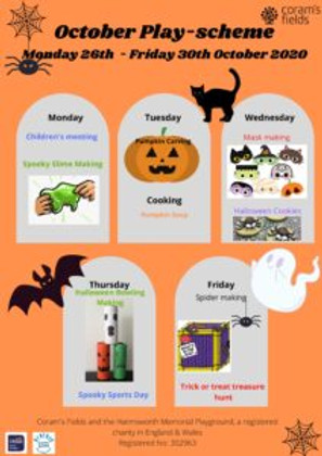 October Play-Scheme