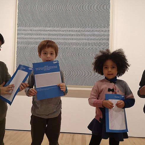 Bridget Riley Museum Experience for Kids