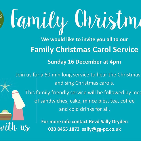 Family Christmas Carol Service