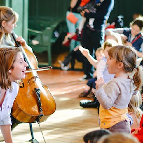 'Hello Cello' Bach to Baby Family Concert