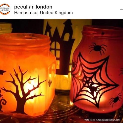 Spooky Lantern Making