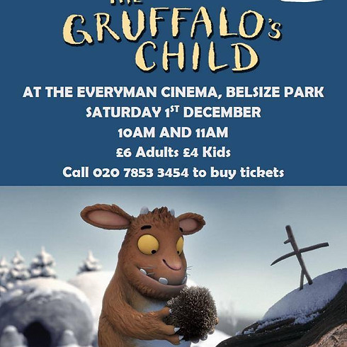 Charity Screening 'The Gruffalo's Child' at The Everyman Cinema Belsize Park