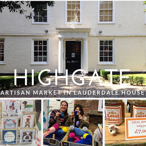 Christmas with The Extraordinary Artisans at Lauderdale House, Highgate