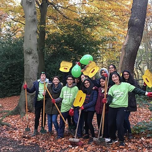 Hampstead Heath Youth Conservation Volunteering