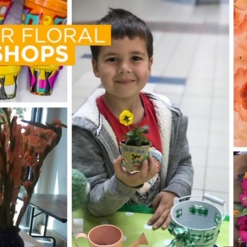 FLORAL WORKSHOPS at the O2 centre NW3