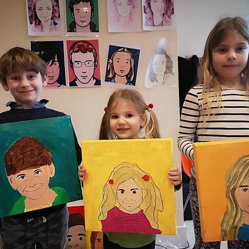 Julian Opie Family Art Workshop