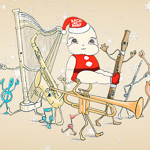 The Festive Harp - Bach to Baby Christmas Family Concert
