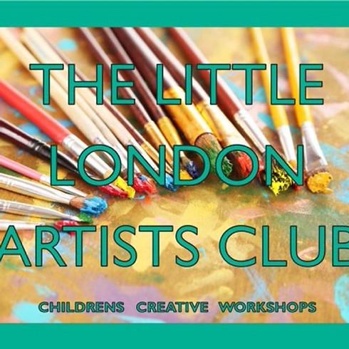 THE LITTLE LONDON ARTISTS CLUB - Frida Kahlo