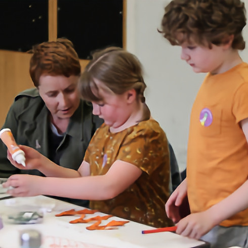 Family workshop: Design your own doll