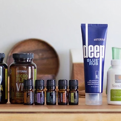Daily Habits for your Healthy Lifestyle with dōTERRA Essential Oils & Supplements