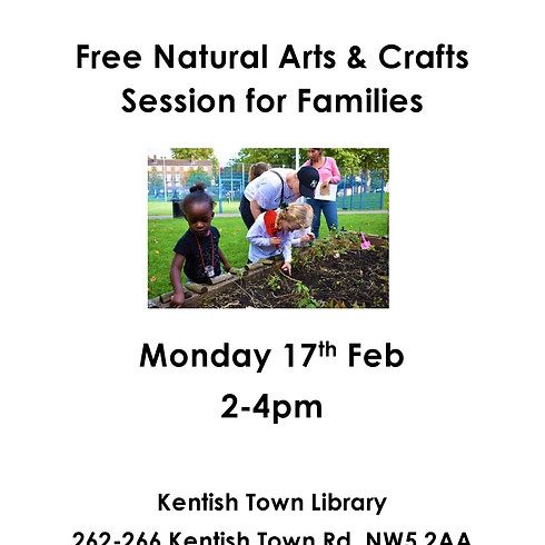 Free Natural Arts & Crafts Session for Families