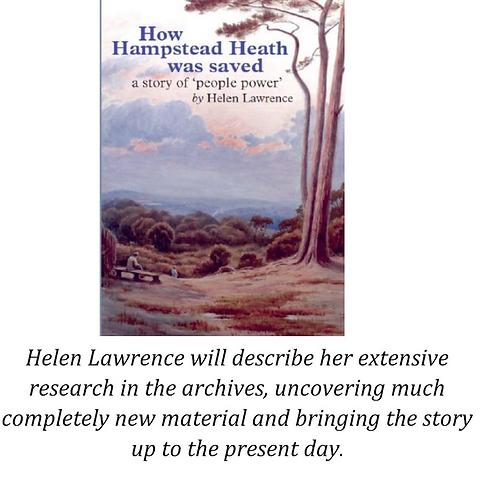 Helen Lawrence 'How Hampstead Heath was Saved'