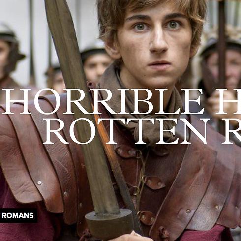 KIDS' KINO CLUB: 'Horrible Histories: Rotten Romans'