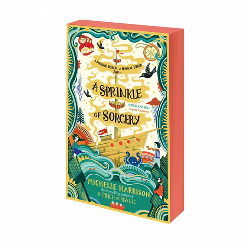 BOOK SIGNING with Michelle Harrison 'A Sprinkle of Sorcery'