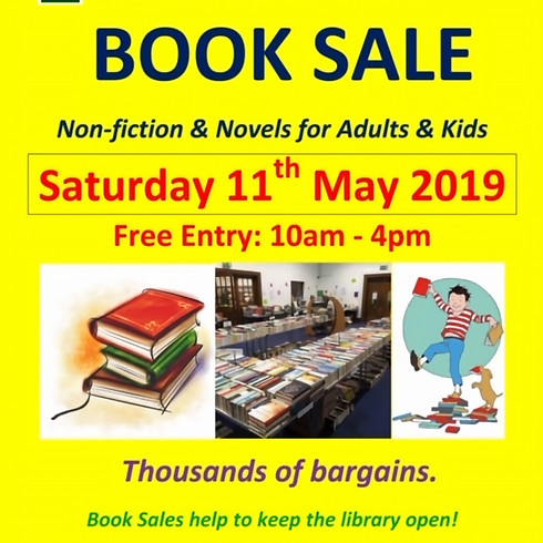 BOOK SALE at Keats Community Library